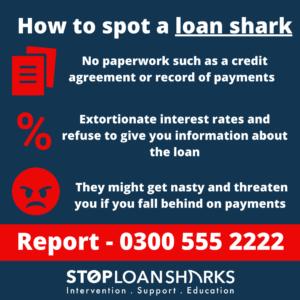Spotting a Loan shark