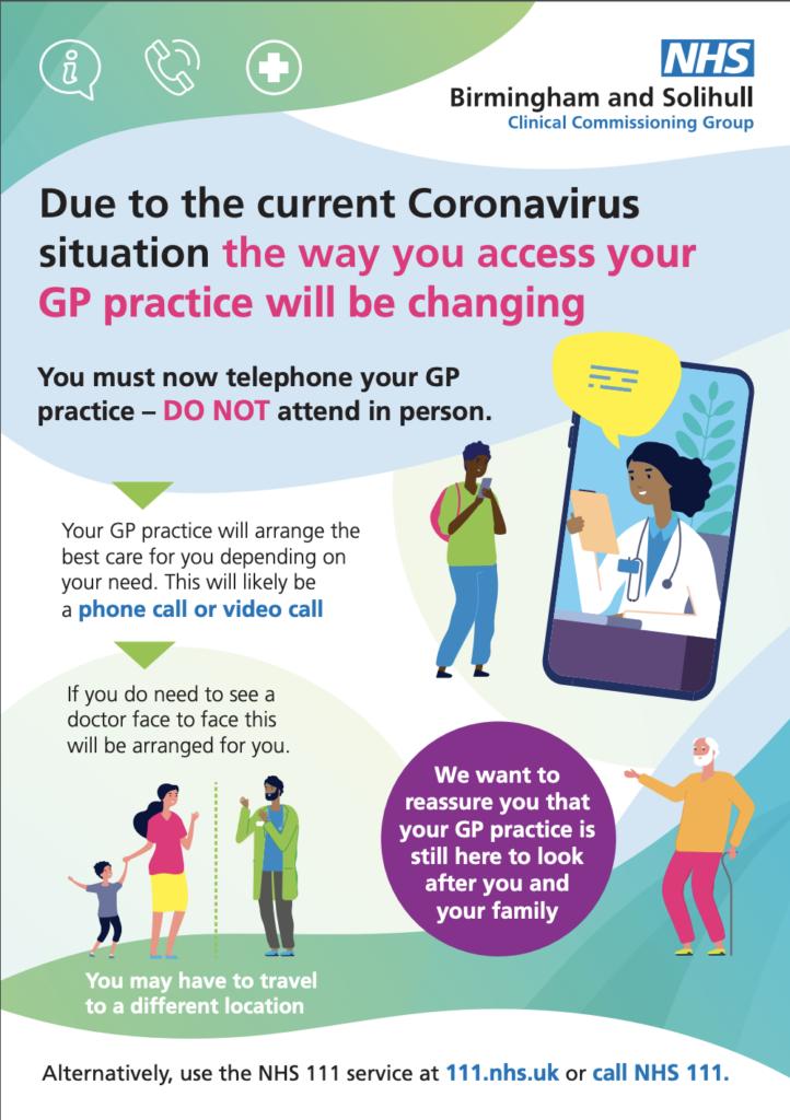 GP Access changes